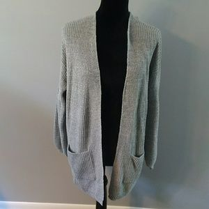 Wild Fable gray, two pocket, cardigan